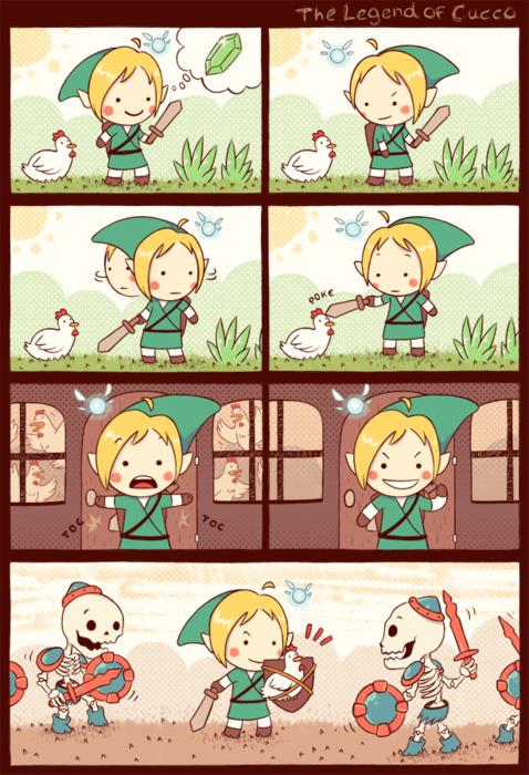 The Legend of Zelda: Cucco's Rage