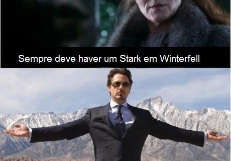 Se ele estivesse em Winterfell quando... Não vou dar spoiler!