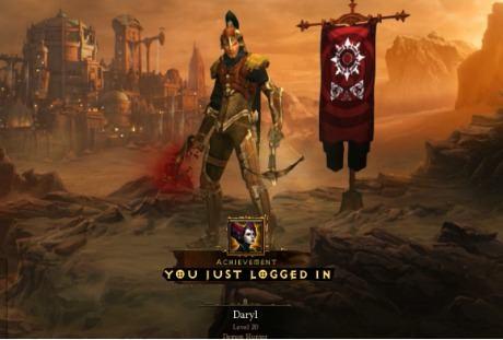 Esse Diablo III tá tão difícil que até pra logar você tem que matar o Boss 37!