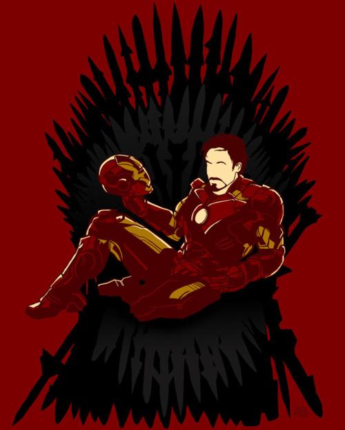 Homem de Ferro, Trono de Ferro... Fica tudo bem assim!