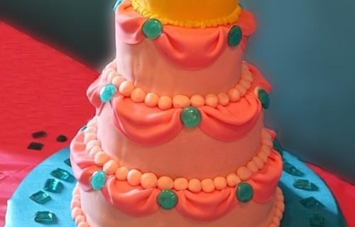 O bolo de aniversário de 1 ano dela será assim!