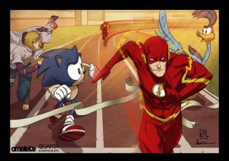 O Flash é uma dessas pessoas, cara chato viu!