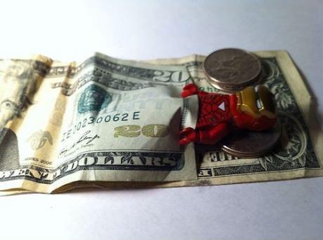Ainda bem que não me cubro com dinheiro, odeio passar frio!