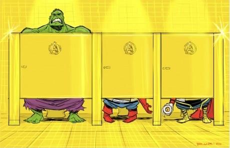 A situação do Hulk não deve tá muito boa...