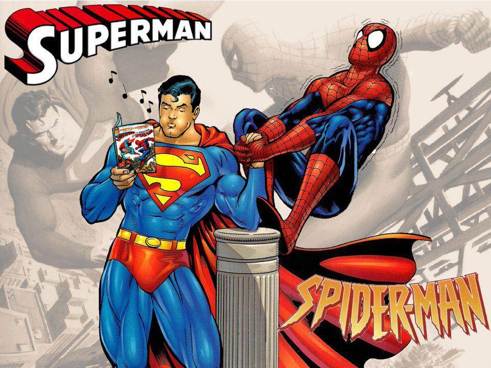 Olha, eu ACHO que o superman leva essa!