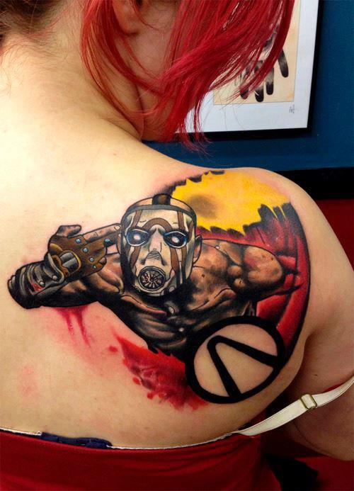 Você teria coragem de tatuar algo do seu game favorito?