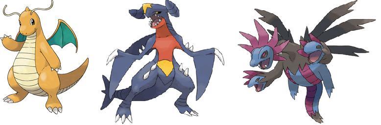 dragonitegarchomphydreigon