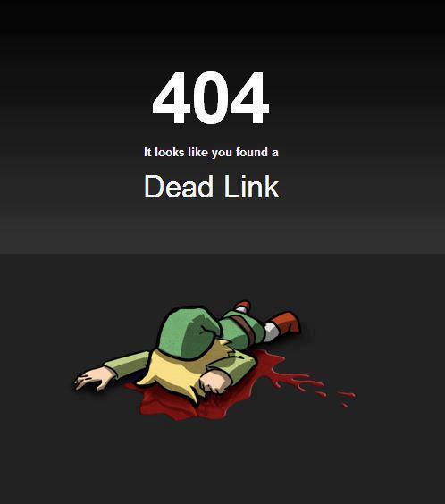 Sempre fico triste quando vejo um link morto =/