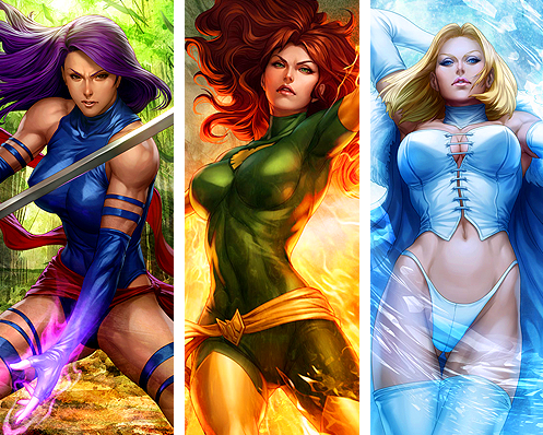 marvel girls