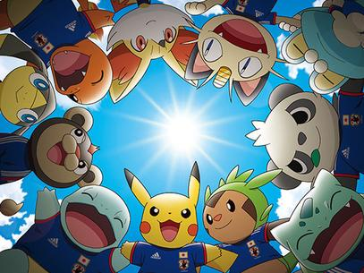 Pokémon Seleção Japonesa Adidas