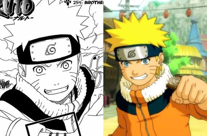 Mangá vs. Anime | Main Quest Gaara And Naruto Kids