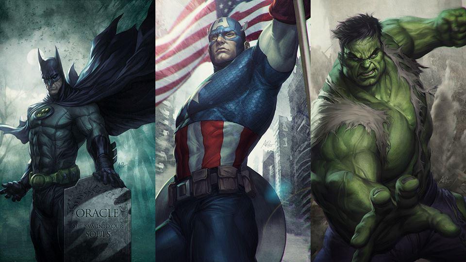 Geekdump Desenhos Incriveis De Super Herois Main Quest